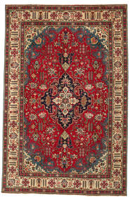 Tabriz Patina Rug 196X302 Authentic  Oriental Handknotted Dark Grey/Light Brown (Wool, Persia/Iran)