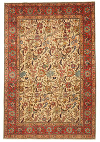 Tabriz Patina pictorial signed: Hadadian carpet EXK137