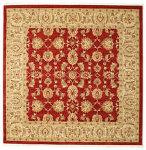 Ziegler Kaspin - Red Rug 192X192 Oriental Square Light Brown/Rust Red ( Turkey)