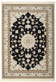 Nain Mahak Rug 250X350 Oriental Light Brown/Beige/Black Large ( Turkey)
