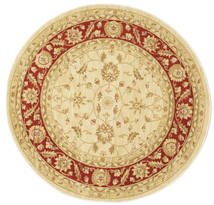 Ziegler Fumanat Rug Ø 150 Oriental Round Yellow/Rust Red ( Turkey)