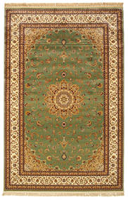 Nahal - Green Rug 6′7″X9′10″ Modern Brown/Dark Grey ( Turkey)