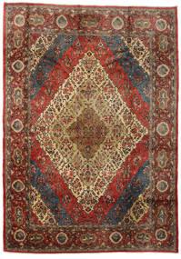 サルーク 絨毯 274X383 オリエンタル 手織り 濃いグレー/濃い茶色 大きな (ウール, ペルシャ/イラン)