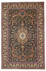 Keshan Patina Alfombra 218X340 Oriental Hecha A Mano Marrón Claro/Gris Oscuro (Lana, Persia/Irán)