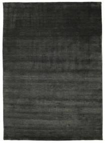 Handloom - Zwart / Grijs tapijt CVD1189