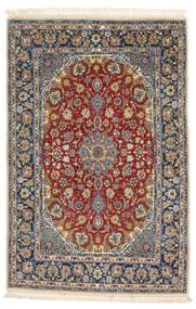 Isfahan silk warp carpet VAZZU8