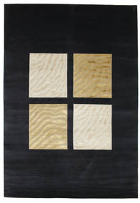 Bamboo - Mørk Blå teppe CVD3551