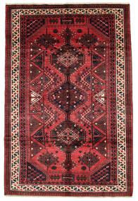 Lori Alfombra 167X252 Oriental Hecha A Mano Negro/Roja (Lana, Persia/Irán)