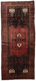 Koliai Matto 148X345 Itämainen Käsinsolmittu Käytävämatto Tummanpunainen/Tummanruskea (Villa, Persia/Iran)