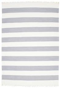 Cotton Stripe - Steel Grey Szőnyeg 250X350 Modern Kézi Szövésű Bézs/Világosszürke Nagy (Pamut, India)