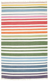 Rainbow Stripe - White carpet CVD1769