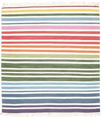 Rainbow Stripe - White carpet CVD1763