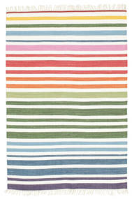 Rainbow Stripe - White carpet CVD1771