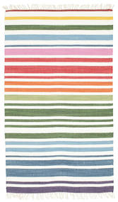 Rainbow Stripe - White carpet CVD1770
