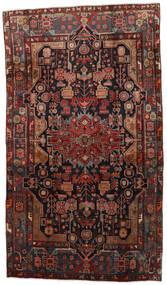 Nahavand Alfombra 170X302 Oriental Hecha A Mano Rojo Oscuro/Marrón Oscuro (Lana, Persia/Irán)