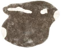 Funny-Bunny Polo - Szary/White Dywan 130X160 Nowoczesny Ciemnobrązowy/Jasnobrązowy ( Indie)