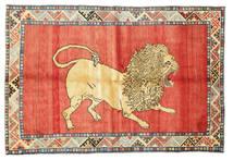 Qashqai pictorial carpet VXZZG708