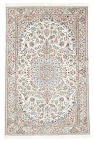 Nain 6La Matta 113X177 Äkta Orientalisk Handknuten Beige/Ljusgrå (Ull/Silke, Persien/Iran)