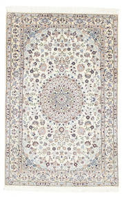 Nain 6La Matto 97X150 Itämainen Käsinsolmittu Beige (Villa/Silkki, Persia/Iran)