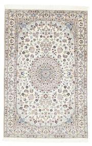Nain 6La Matta 97X150 Äkta Orientalisk Handknuten Beige (Ull/Silke, Persien/Iran)
