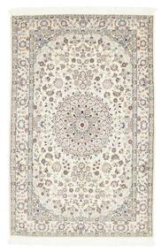 Nain 6La Rug 101X157 Authentic  Oriental Handknotted Beige/Dark Beige (Wool/Silk, Persia/Iran)