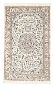 Nain 6La Rug 100X160 Authentic Oriental Handknotted Beige/Light Brown (Wool/Silk, Persia/Iran)