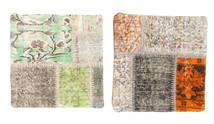 Tappeto Patchwork Fodera per cuscino BHKM491