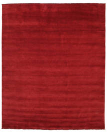 Handloom Fringes - Donkerrood Tapijt 250X300 Modern Rood Groot (Wol, India)