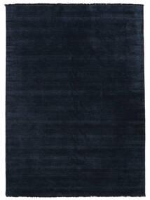 Handloom fringes - Tummansininen-matto CVD5444