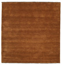 Handloom Fringes - Brown Rug 250X250 Modern Square Brown/Dark Brown Large (Wool, India)