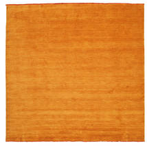 Handloom Fringes - Orange Rug 250X250 Modern Square Orange Large (Wool, India)