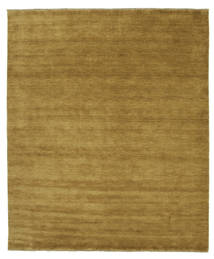 Handloom Fringes - Olive Green Rug 250X300 Modern Olive Green/Brown Large (Wool, India)