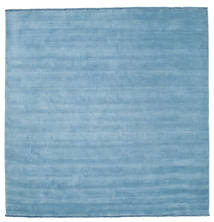 Handloom fringes - Light Blue rug CVD5426