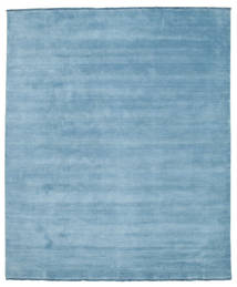 Handloom fringes - Light Blue carpet CVD5422