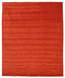 Handloom fringes - Rost / Rot Teppich CVD5397