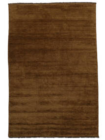 Handloom Fringes - Brown Rug 200X300 Modern Brown (Wool, India)