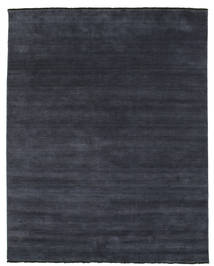 Handloom Fringes - Dark Blue Rug 200X250 Modern Dark Blue (Wool, India)