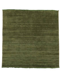 Handloom Fringes - Green Rug 200X250 Modern Olive Green/Dark Green (Wool, India)
