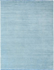Handloom fringes - Light Blue rug CVD5425