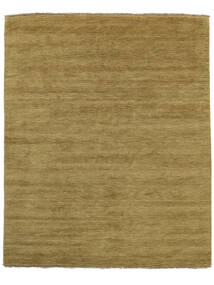 Handloom Fringes - Olive Green Rug 200X250 Modern Olive Green/Brown (Wool, India)
