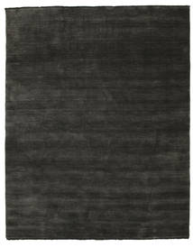 Handloom Fringes - Black/Grey Rug 200X250 Modern Dark Grey/Black (Wool, India)