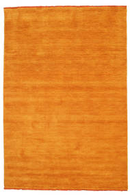 Handloom Fringes - Orange Rug 160X230 Modern Orange/Light Brown (Wool, India)
