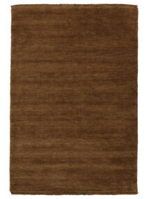 Handloom Fringes - Brown Rug 160X230 Modern Brown (Wool, India)