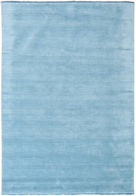 Handloom fringes - Light Blue rug CVD5428