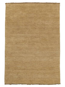 Handloom Fringes - Beige Rug 160X230 Modern Light Brown (Wool, India)