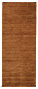 Handloom Fringes - Brown Rug 80X200 Modern Hallway Runner  Brown (Wool, India)