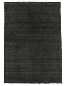 Handloom fringes - Sort / Grå tæppe CVD5482