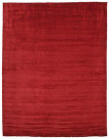Tapis Handloom fringes - Rouge foncé CVD5245