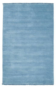 Handloom Fringes - Light Blue Rug 100X160 Modern Light Blue (Wool, India)