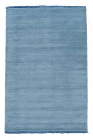 Handloom Fringes - Lys Blå Teppe 80X120 Moderne Lys Blå/Blå (Ull, India)